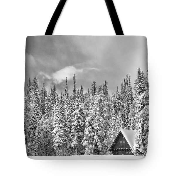 Taking Refuge - Grand Teton Tote Bag by Sandra Bronstein