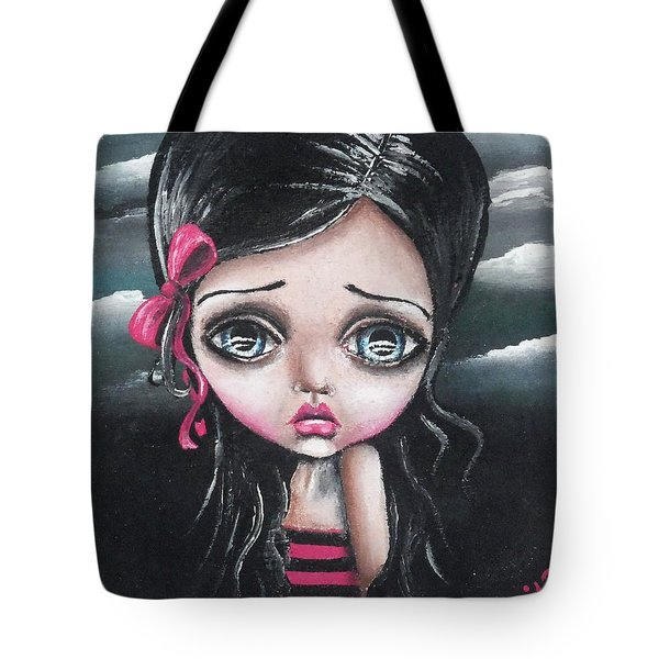 Tale Of A Dark Princess Tote Bag by Lizzy Love of Oddball Art Co