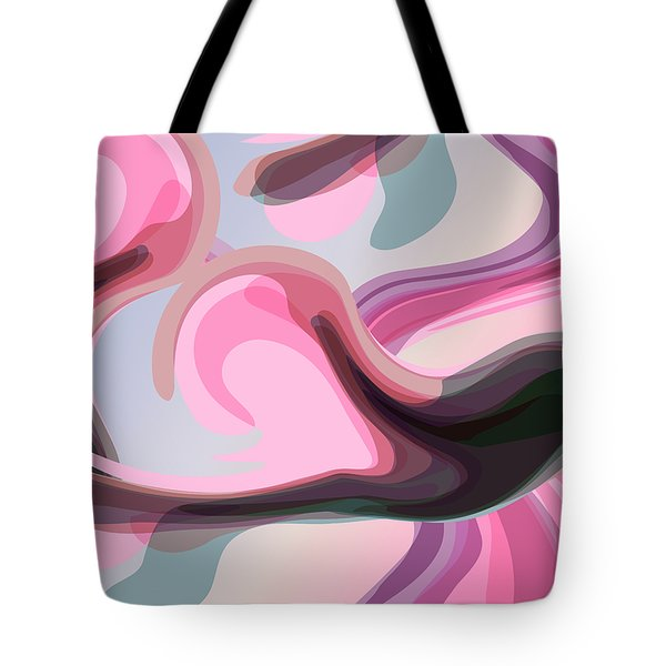 Talk To Me 3 Tote Bag by Angelina Vick