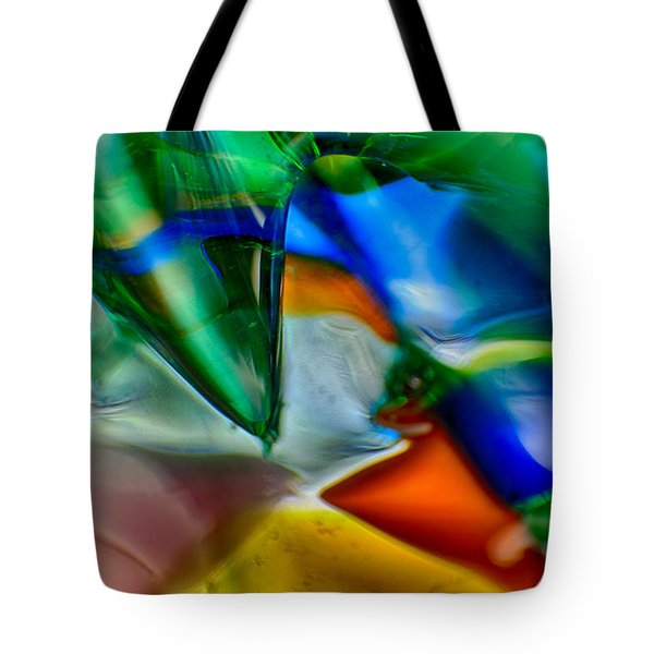 Talons Verde Tote Bag by Omaste Witkowski