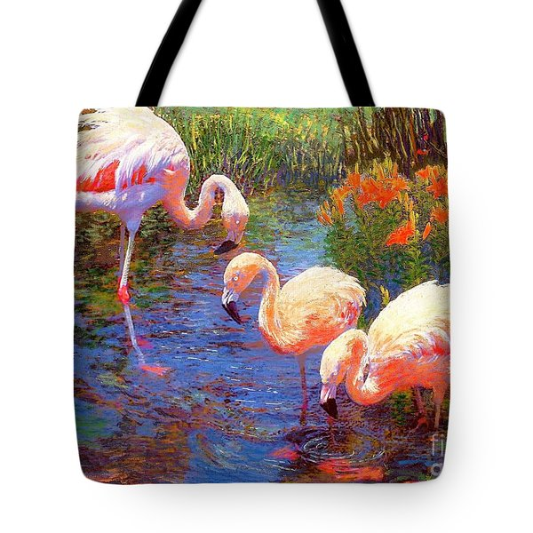 Tangerine Dream Tote Bag by Jane Small