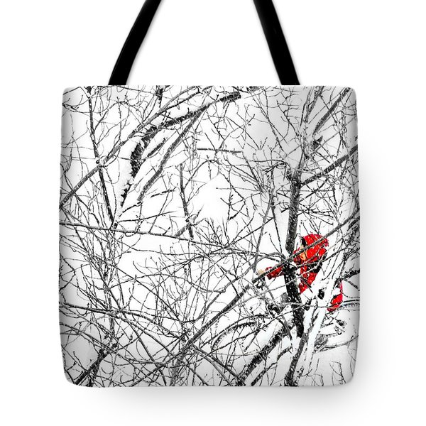 Tangled Tote Bag by Diana Angstadt