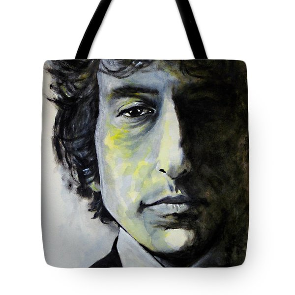 Tangled Up In Blue Tote Bag by William Walts