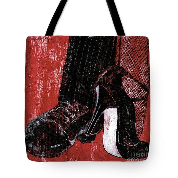 Tango Tote Bag by Debbie DeWitt