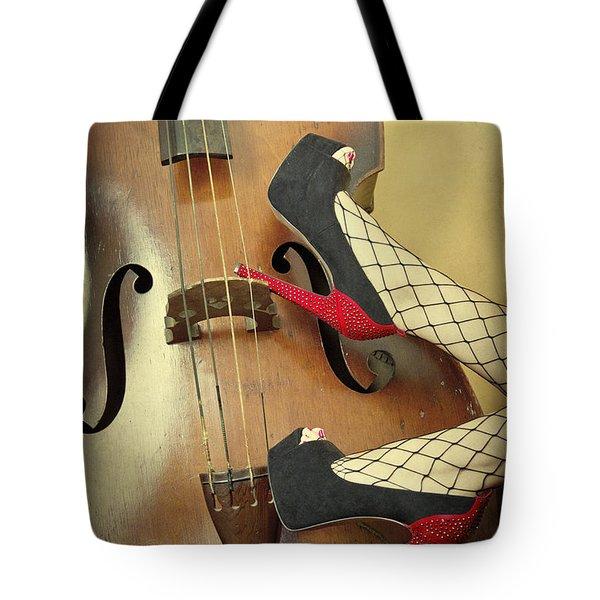 Tango For Strings Tote Bag by Evelina Kremsdorf