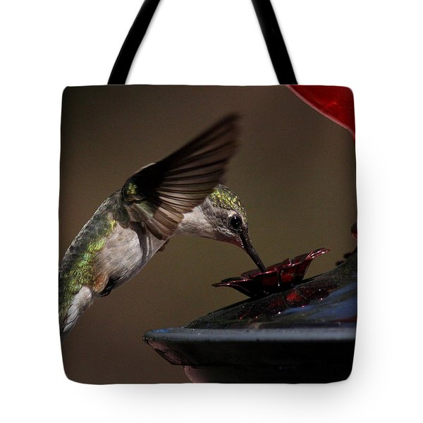 Tanking Up Tote Bag by Douglas Stucky
