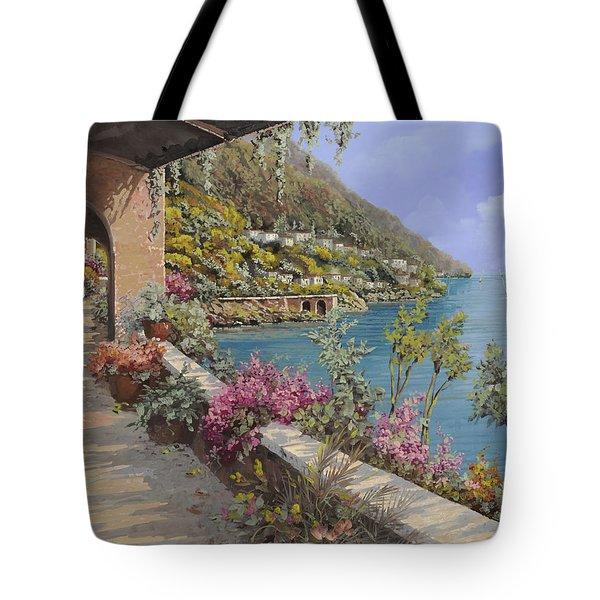 Tanti Fiori Sulla Terrazza Tote Bag by Guido Borelli