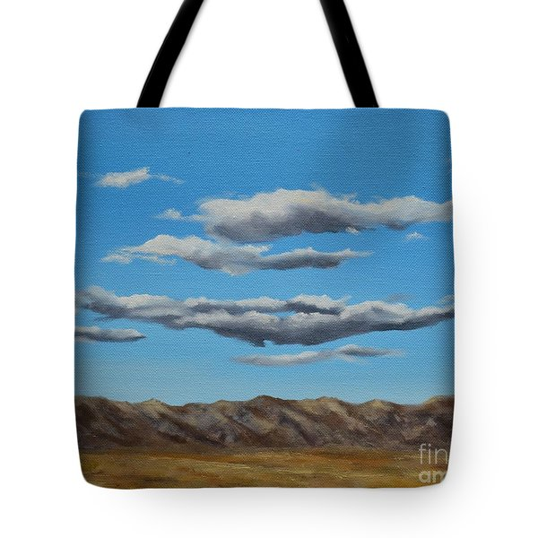 Taos Clouds Tote Bag by Mary Rogers