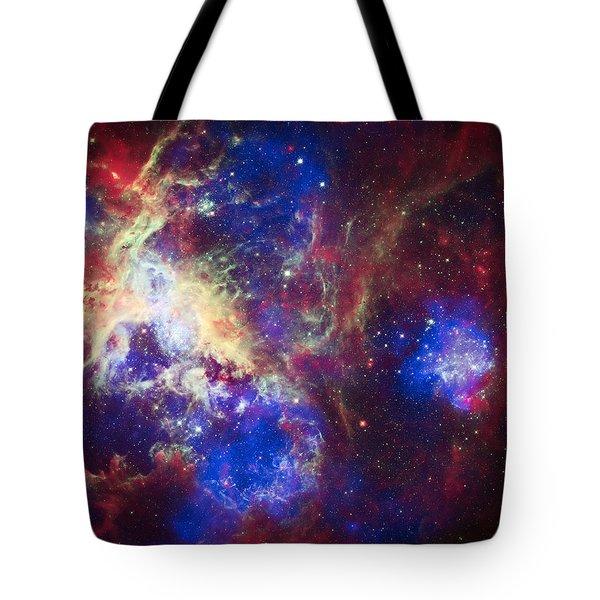 Tarantula Nebula 6  Tote Bag by The  Vault - Jennifer Rondinelli Reilly