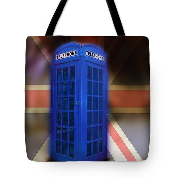 Tardis Tote Bag by Bill Cannon