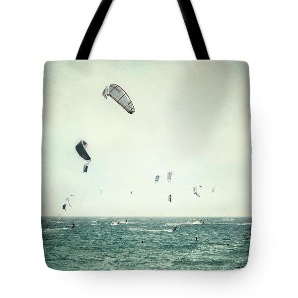 Tarifa Beach Tote Bag by Guido Montanes Castillo