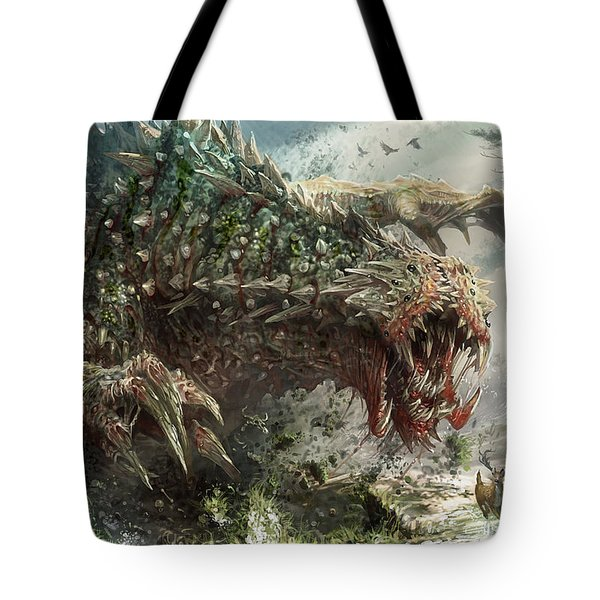 Tarmogoyf Reprint Tote Bag by Ryan Barger
