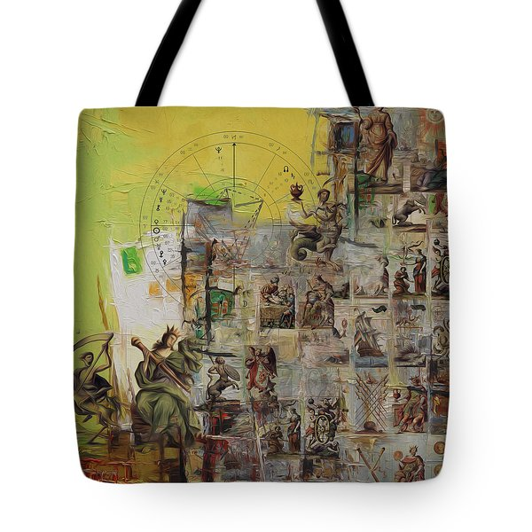 Tarot Card Set Tote Bag by Corporate Art Task Force