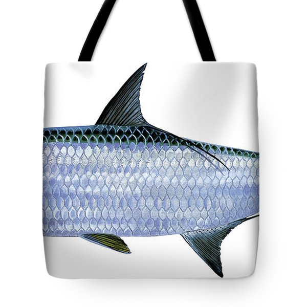 Tarpon Tote Bag by Carey Chen