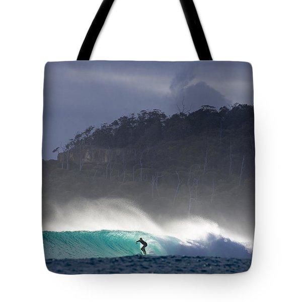 Tasmania Dream Tote Bag by Sean Davey