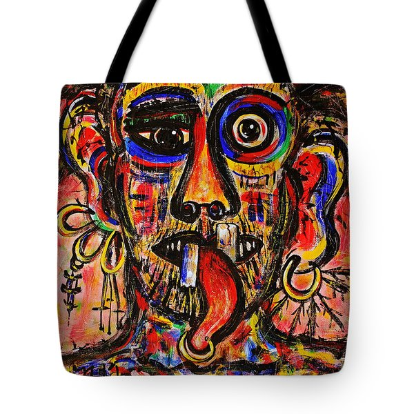 Tattooist Tote Bag by Natalie Holland