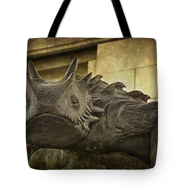 Tcu Horned Frog Tote Bag by Joan Carroll
