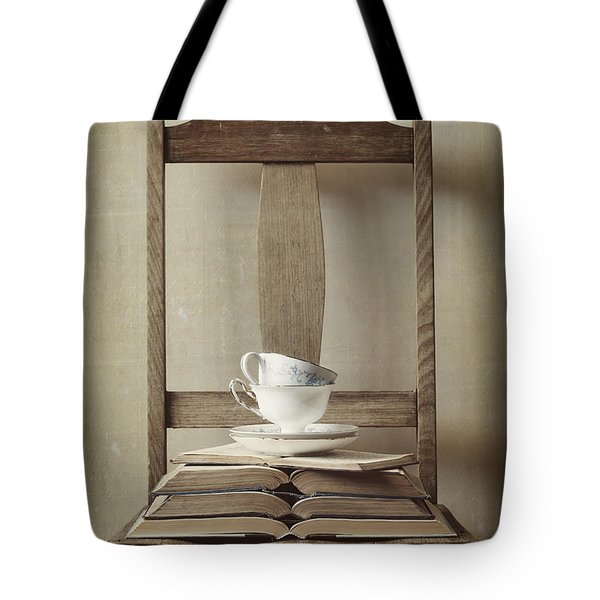 Tea Tales Tote Bag by Amy Weiss