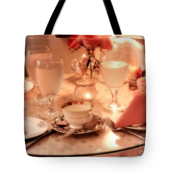 Tea Time Tote Bag by Carol Groenen