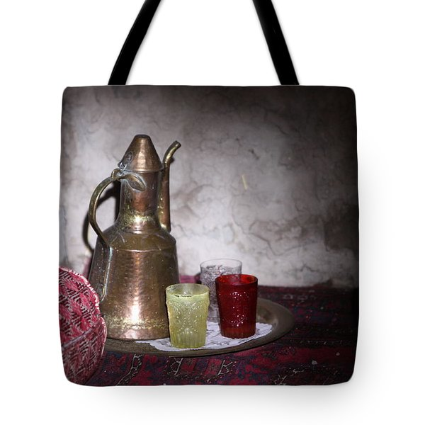 Tea Time Tote Bag by Shoal Hollingsworth