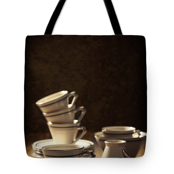 Teacups Tote Bag by Amanda And Christopher Elwell