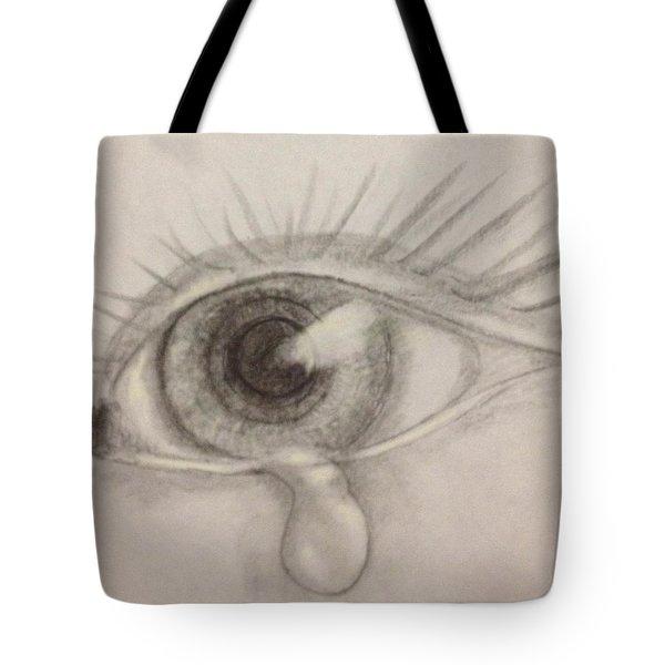 Tear Tote Bag by Bozena Zajaczkowska