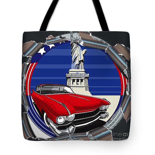 Tear Open The Past Tote Bag by M and L Creations