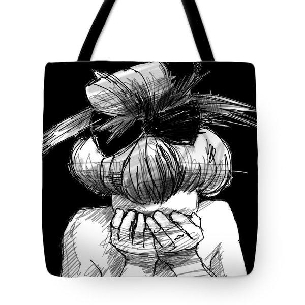 Tears Tote Bag by H James Hoff