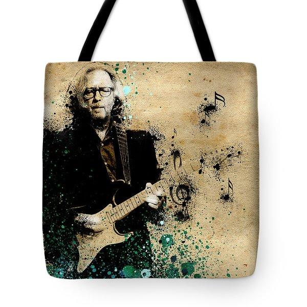 Tears In Heaven Tote Bag by Bekim Art