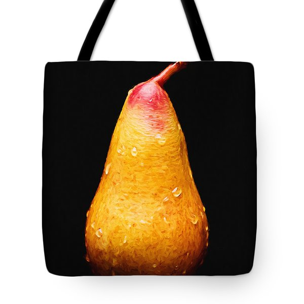 Tears Of A Sad Pear Tote Bag by Andee Design