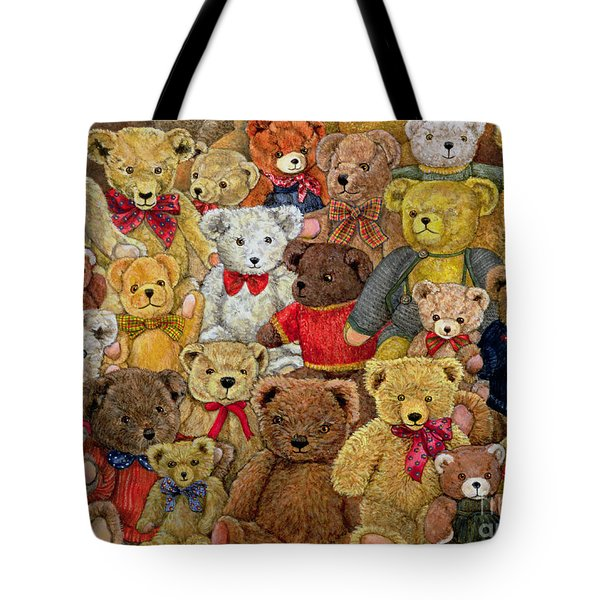 Ted Spread Tote Bag by Ditz