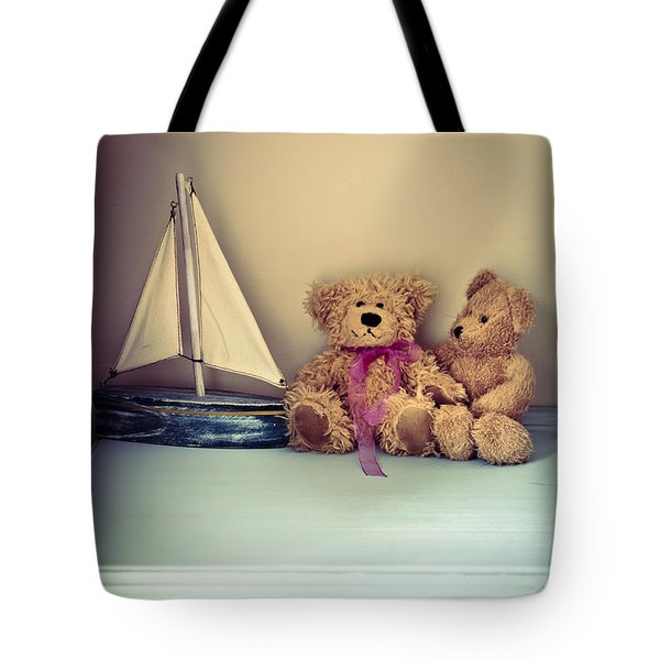 Teddy Bears Tote Bag by Jan Bickerton