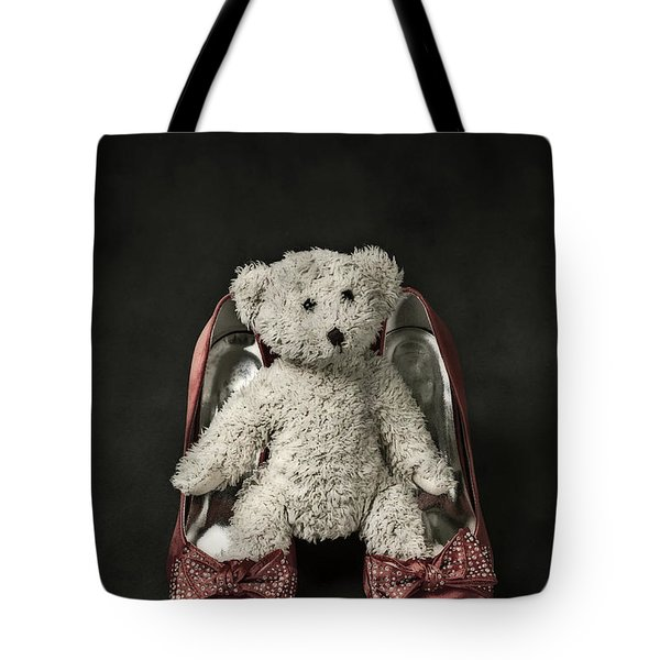 teddy in pumps Tote Bag by Joana Kruse