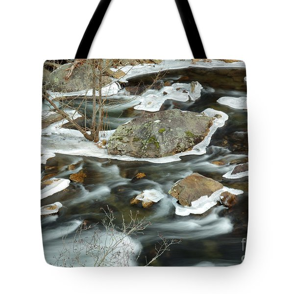 Tellico River Tote Bag by Douglas Stucky