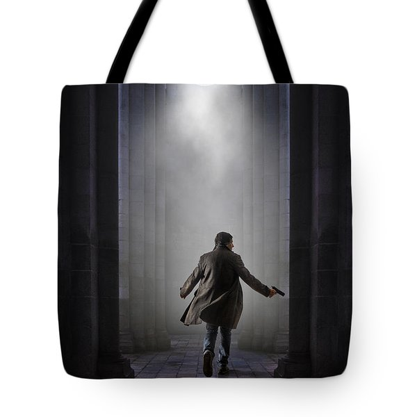 Temple Chase Tote Bag by Carlos Caetano