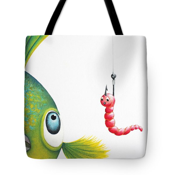 Temptation Tote Bag by Oiyee At Oystudio