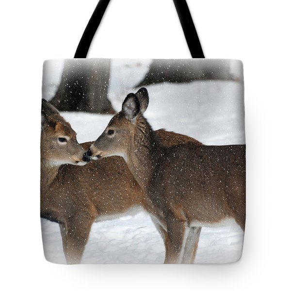 Tender Sentiment Tote Bag by Christina Rollo