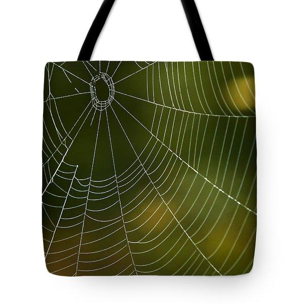 Tender Web Tote Bag by Christina Rollo