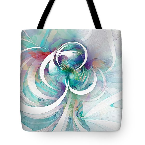 Tendrils 03 Tote Bag by Amanda Moore