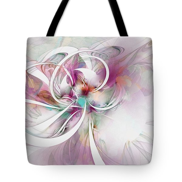 Tendrils 07 Tote Bag by Amanda Moore