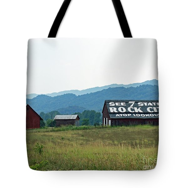 Tennessee Barn Tote Bag by Roger Potts
