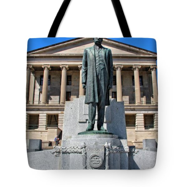 Tennessee Capitol Tote Bag by Dan Sproul