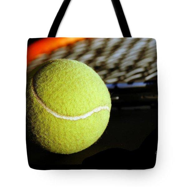 Tennis Equipment Tote Bag by Michal Bednarek