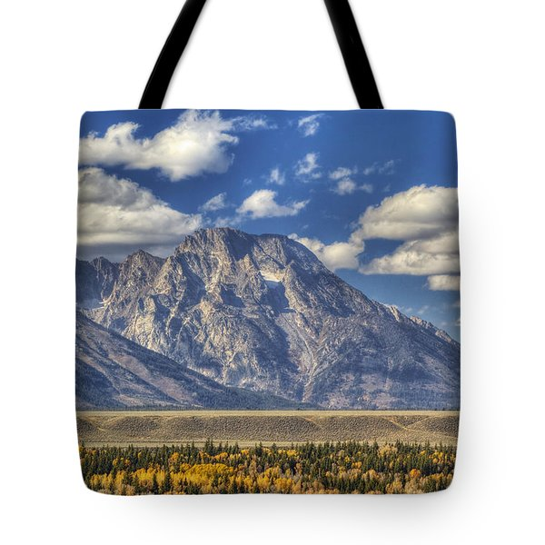 Teton Glory Tote Bag by Mark Kiver