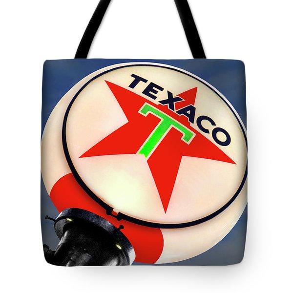 Texaco Star Globe Tote Bag by Mike McGlothlen