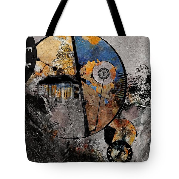 Texas - B Tote Bag by Corporate Art Task Force