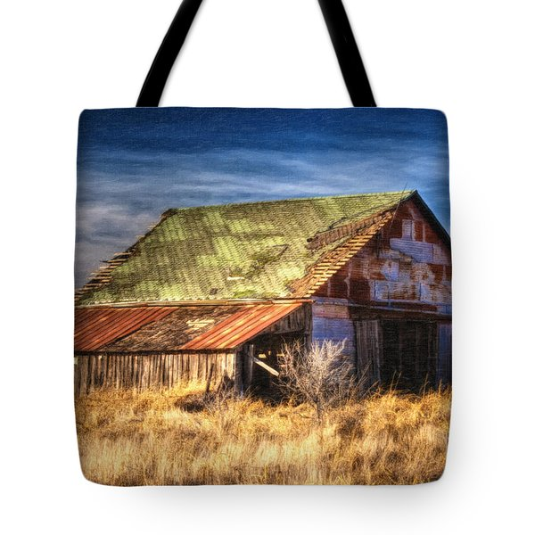 Texas Barn 1 Tote Bag by DS Dodd
