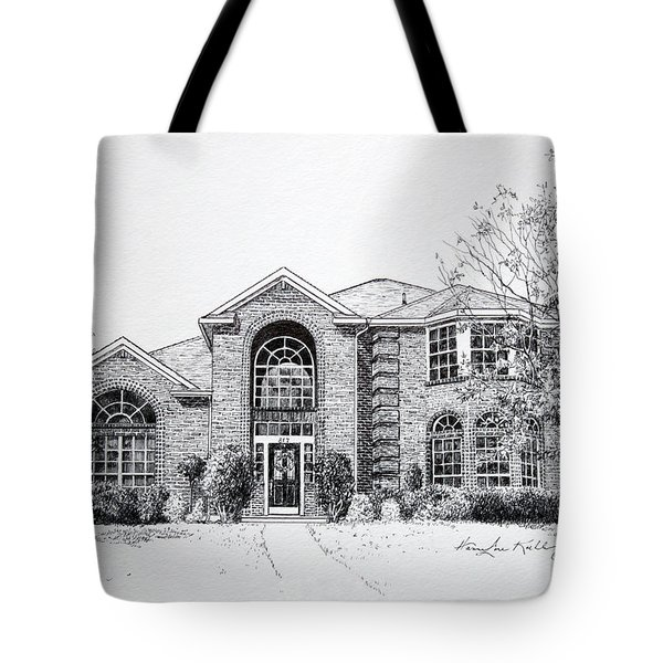 Texas Home 2 Tote Bag by Hanne Lore Koehler