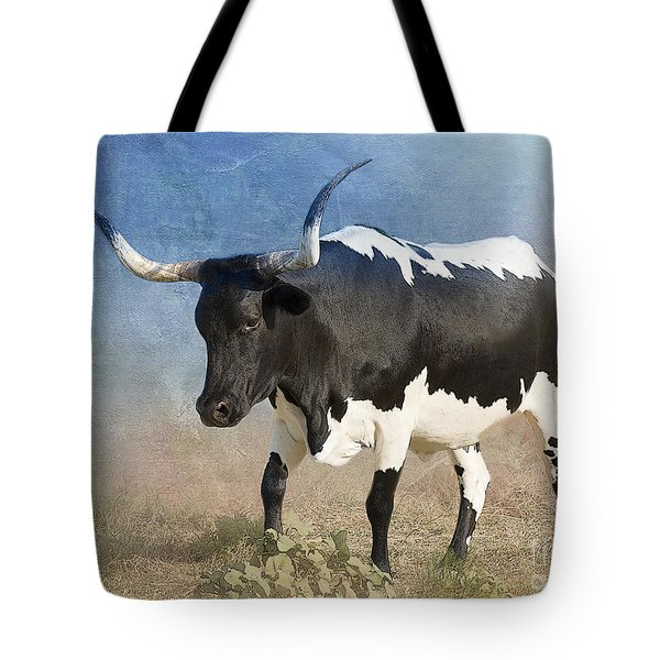 Texas Longhorn #7 Tote Bag by Betty LaRue