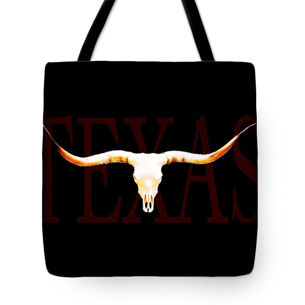 Texas Longhorns By Sharon Cummings Tote Bag by Sharon Cummings